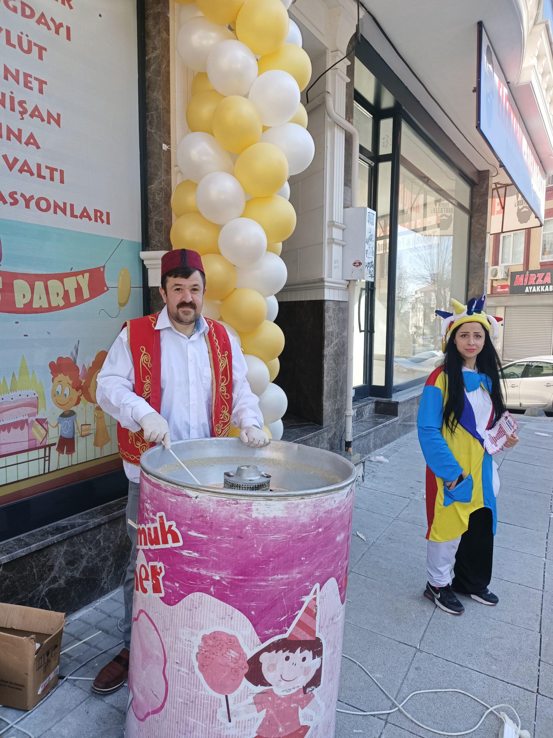 Anadolu yakası Pamuk Şeker Arabası Kiralama